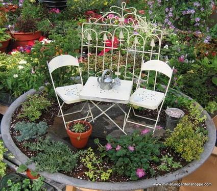 Pequenos Jardines Decoracion De Interiores Y Exteriores Estiloydeco - Pequeos-jardines-en-casa