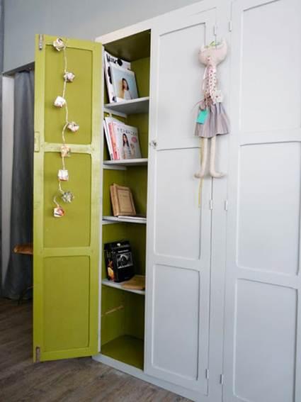 Color en el fondo de armario decoraci n de interiores y - Armarios empotrados por dentro ...