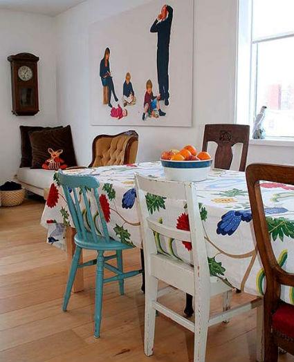 Ideas para comedores informales decoraci n de interiores for Comedores ahorradores de espacio