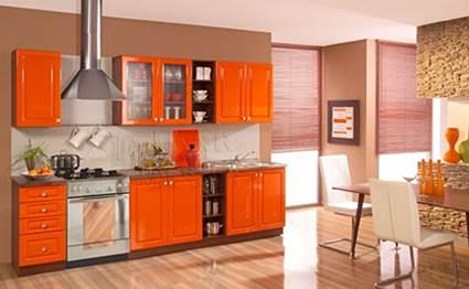 Cocina clásica naranja