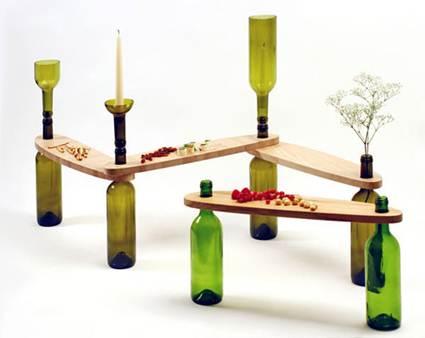 Mesas auxiliares decorativas