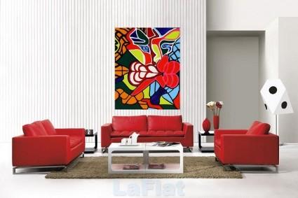 Rojo en la decoración