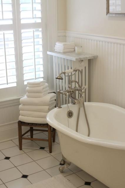 Estilo vintage para el baño