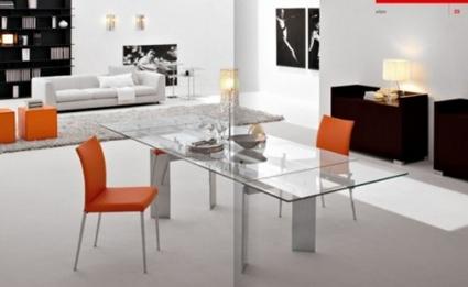 Mesas de vidrio para el comedor - Decoración de Interiores y ...