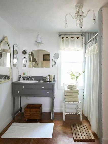 Ideas para decorar el baño con poco dinero