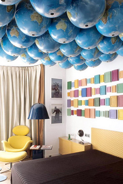 Ideas para decorar con globos terr queos decoraci n de for Cuartos decorados romanticos con globos