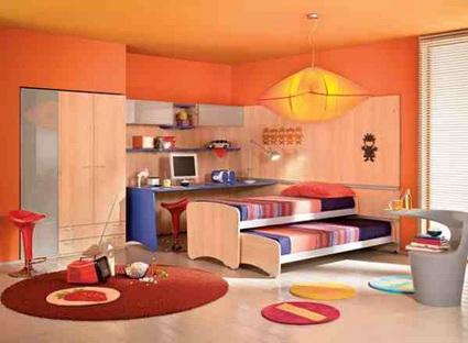 Camas nido en habitaciones infantiles