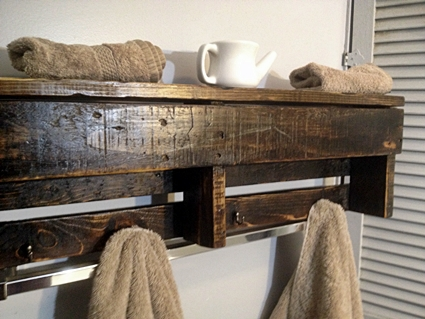 Muebles de baño con palets