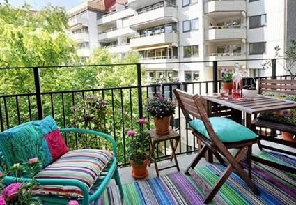 Sillas y sillones para balcones