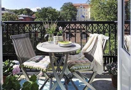 Ideas low cost para balcones