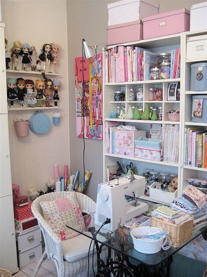 sewing and craft room ideas 10 rincones de costura para inspirarse decoraci 243 n de 7122