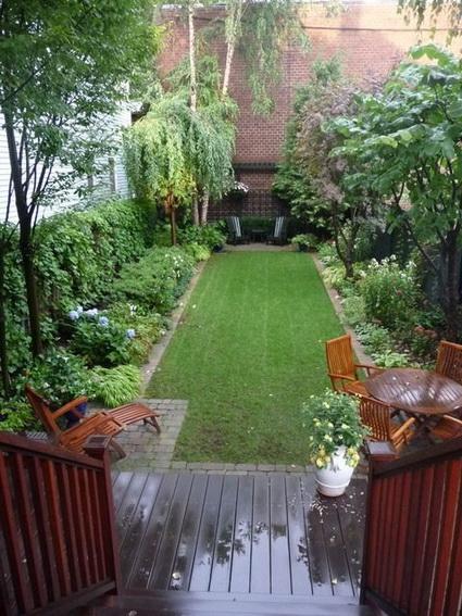 Decoraci n de patios peque os decoraci n de interiores y for Adornos de patios y jardines