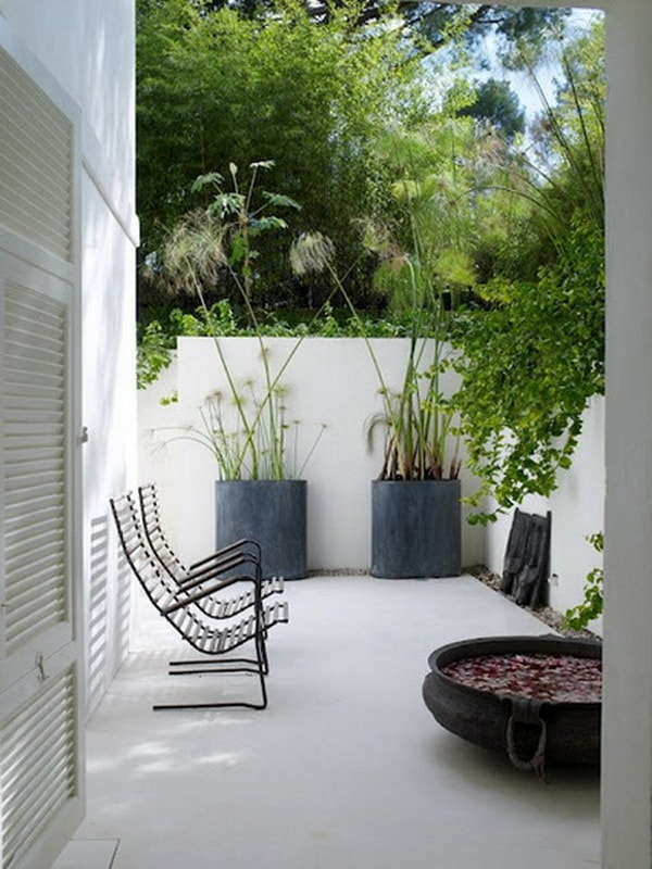 Ideas para patios peque os decoraci n de jardines peque os for Piscinas para patios muy pequenos