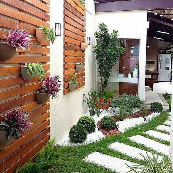 Ideas para patios peque os decoraci n de jardines peque os for Pequeno cobertizo de jardin de madera
