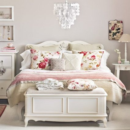 decora tu dormitorio con estilo shabby chic decoraci n de interiores y exteriores estiloydeco. Black Bedroom Furniture Sets. Home Design Ideas