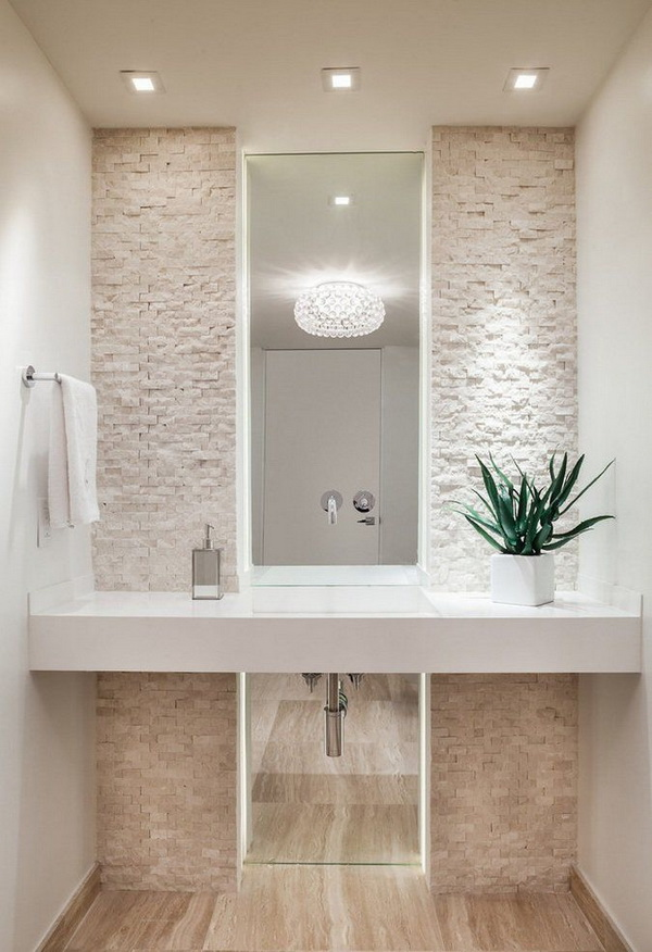 Ideas para decorar el baño con plantas - Decoración de Interiores y ...