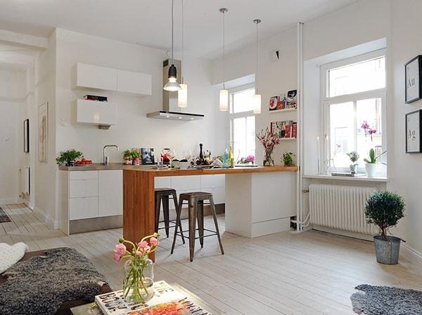 Cocinas abiertas para casas con estilo ideas para cocinas for Diseno de cocinas integradas al comedor