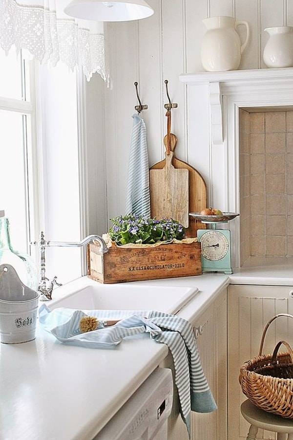 Cocina country chic