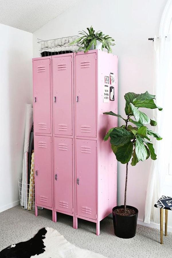 Muebles en tonos pastel