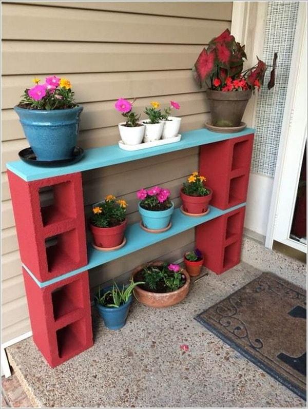 M s ideas para decorar con bloques de cemento decoraci n for Utiles de cocina baratos