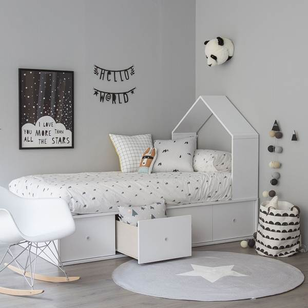 Decoración nórdica infantil
