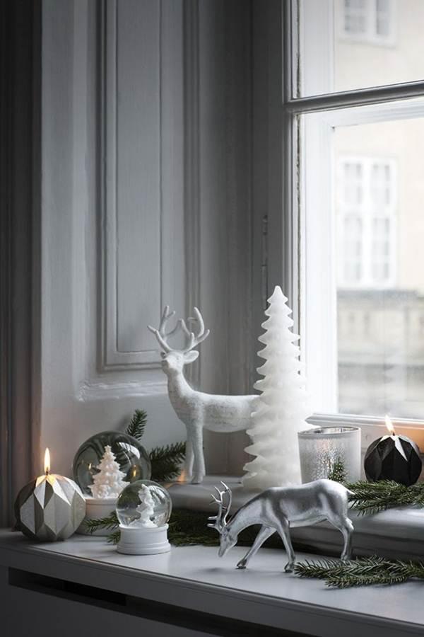 Velas para decorar la Navidad