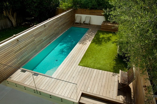14 piscinas peque as de obra ideas de piscinas para for Casa con piscina para dos personas