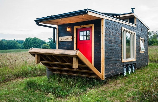 Tiny house o mini casa con ruedas