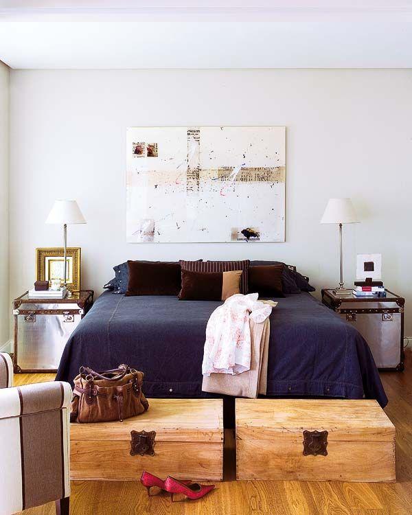 Baúles para guardar cosas en el dormitorio