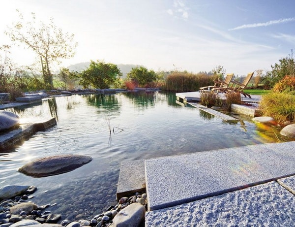 Sustainable swimming pools