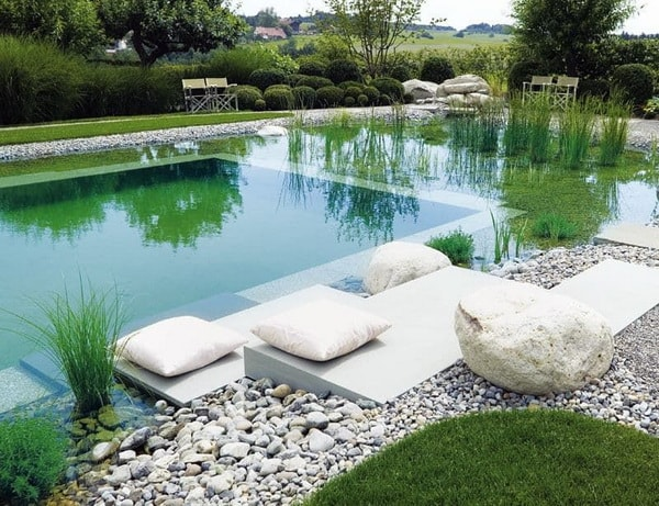 Construction of natural pools