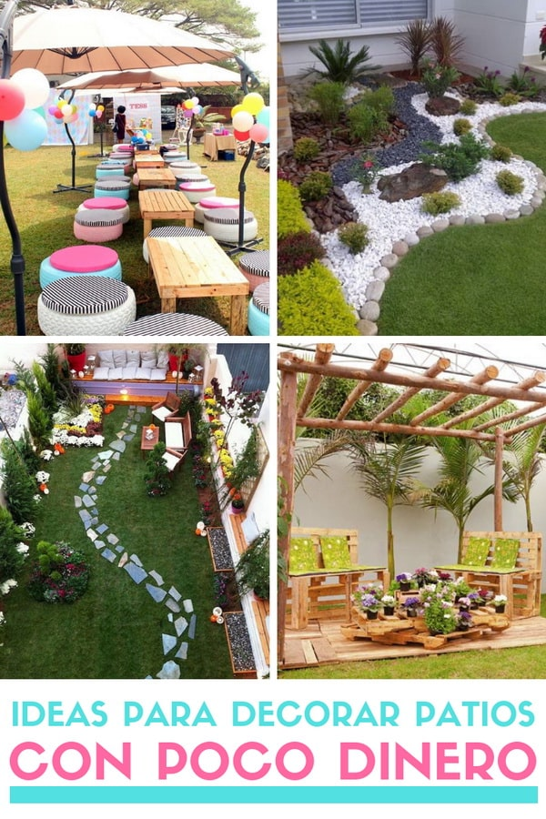 Ideas Para Decorar Patios Con Poco Dinero Decoracion Low Cost