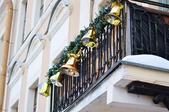 Decoración de terrazas en Navidad