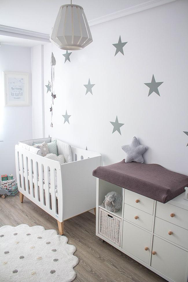 Cómo colocar los muebles en la habitación del bebé
