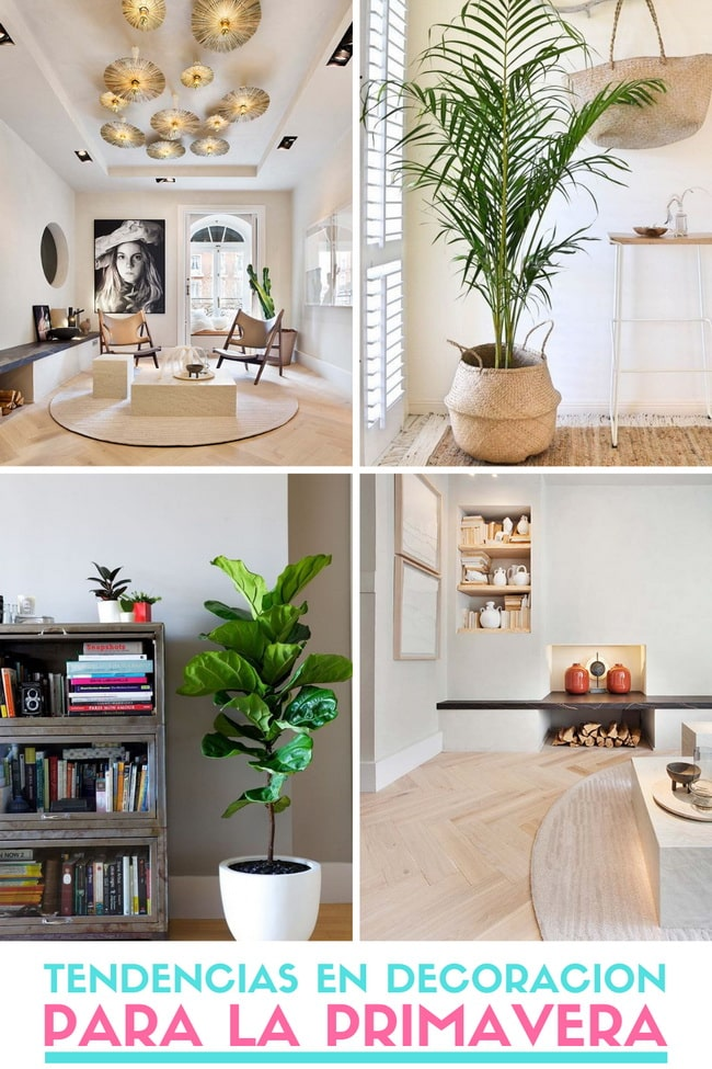 Tendencias en decoración primavera