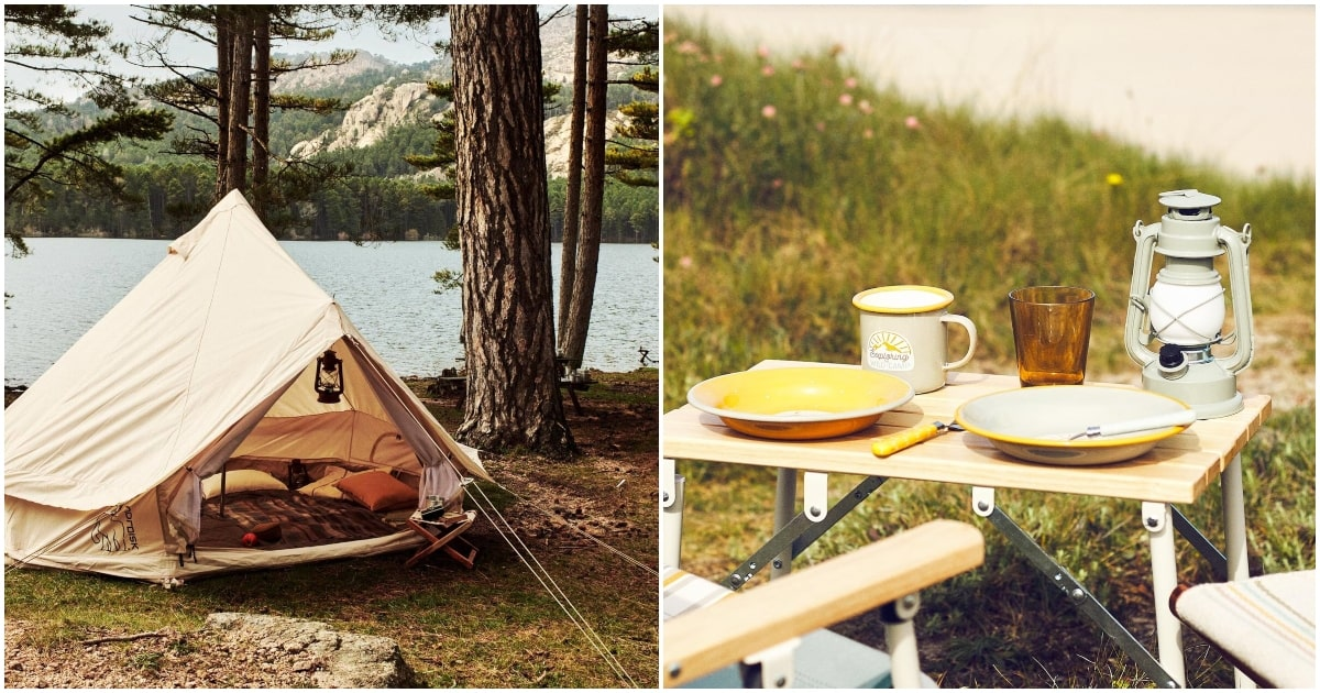 Camping con glamour