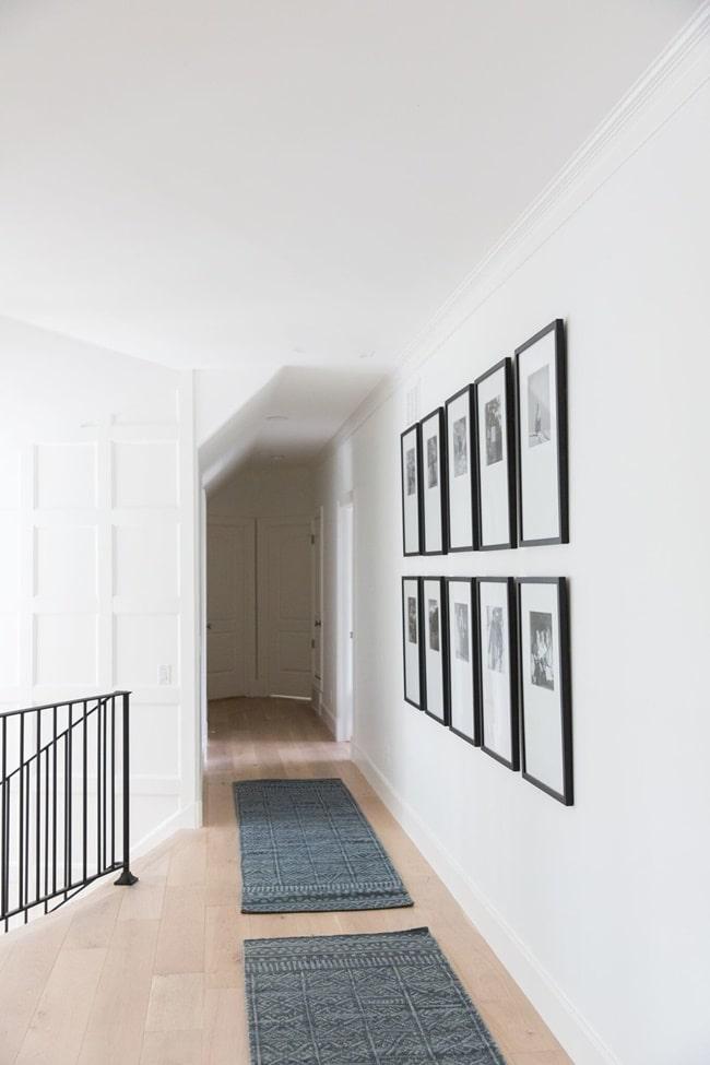 Decoración de pasillos con fotos
